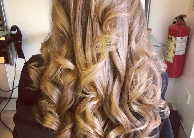 Colour natulique and Boho curly blow dry